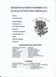 ENCUENTRO NAVIDEÑO DE AULAS DE CULTURA