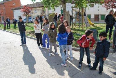 FIESTAS DE BERCERO.- tren y parque infantil II
